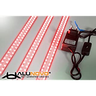 ALUNOVO® Ambient LED-Light Set50 rot