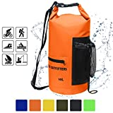 Hasle (Outfitters Waterproof Dry Bag-10l/20L Roll Top Sac de compression avec sangles...