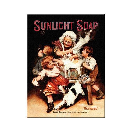 Nostalgic-Art 14200 Beauty & Care - Sunlight Soap, Magnet 8x6 cm - Beauty Care Soap