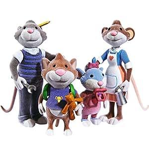 Leo famiglia di topi di peluche 109222717 for Topo tip giocattoli