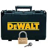 DeWALT Transportkoffer für Einhand-Winkelschleifer im SET inkl. Vorhängeschloss - werkstatt-king.de - DE4037-XJ, Koffer