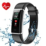 CHEREEKI Fitness Tracker, IP68 Impermeabile Orologio Smartwatch con...