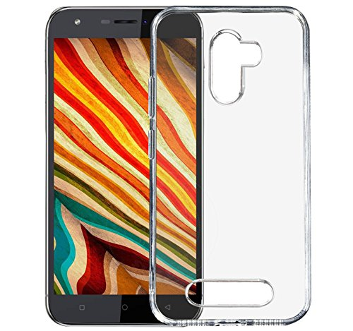 Jkobi® Exclusive Soft Silicone TPU Jelly Crystal Clear Case Soft Back Case Cover For Karbonn Aura Note 4G -Transparent