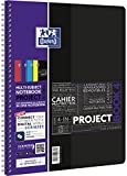 OXFORD 400037432 Projectbook Studium Digitaler Collegeblock A4 kariert 100 Blatt