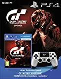 Sony Gran Turismo Sport + PlayStation DualShock 4 Controller GT Sport Limited Edition Bundle