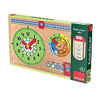 Jumbo-Spiele-D51319-Jumbo-Kalenderuhr-Goula-Spiele-und-Puzzles
