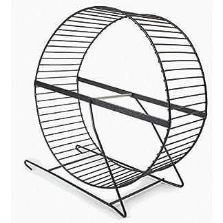 Fuzzballs Metal Rat Wheel On Stand Fuzzballs Metal Rat Wheel On Stand 51s8lXwLAyL