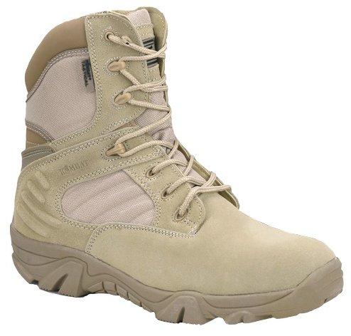 Army Military Combat da uomo Tactical Patrol Desert-Stivali da uomo in pelle scamosciata
