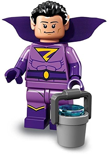 the Lego batman Film Serien 2 Minifigur - 71020 - Satz Rücksack Zip (Wonder Twin (Zan)) (Minifiguren Batman Lego Custom)