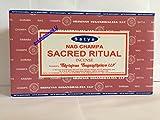 Satya Nag Champa ( SACRED RITUAL ) Incense Sticks 12 Packsx 15g