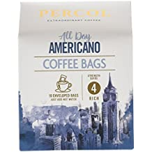 Percol All Day Americano Coffee Bags, 80 g, Pack of 3