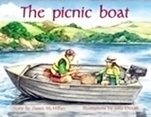 rigby-pm-plus-individual-student-edition-green-levels-12-14-the-picnic-boat-by-rigby-2000-08-26