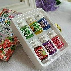 Aceite esencial puro y natural de 3 ml Aromaterapia Perfume Cuidado de la piel Alisado relajante Aceite esencial para el cuerpo rejuvenecedor Multicolor