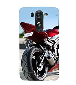 Fiobs Designer Back Case Cover for LG G3 Mini (Bike Motorcycle Cool Vehicle Swag Boy )
