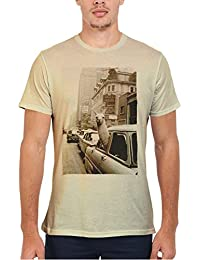 LLama Lama in the Car Vintage Retro Funny Men Women Damen Herren Unisex Top T Shirt