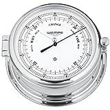 Barometer Admiral II Messing verchromt