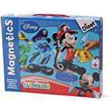Diset - 46156 - Jeu de société - Jeu éducatif - Magnetics Métiers Mickey