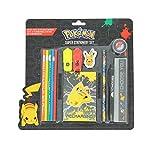 Pokemon officiel je te choisis Super ensemble de papeterie scolaire - 2 arrière école