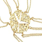 Best Lux Accessories Friend Necklace For Threes - Lux Accessories Goldtone BFF Best Friends Forever Pizza Review