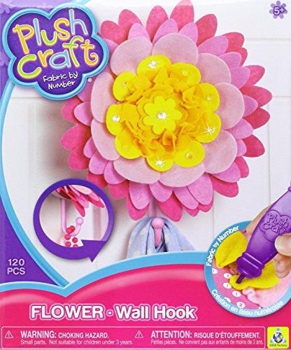 Orb Factory The plushcraft Blumen wandhaken Gelb, Rosa Orange