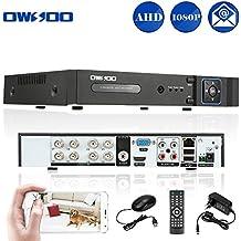 OWSOO 8CH Network DVR H.264 1080P P2P CCTV Sicurezza Controllo