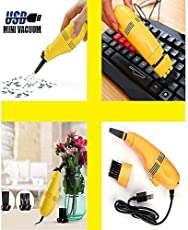 ystore Mini USB Vacuum Cleaner Designed for Computer Keyboard Cleaner Laptop Brush Dust Cleaning Kit Phone Use Useful Vacuum