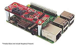 Ableconn PIUSB2SAT USB to SATA Converter Stackable Expansion Board for Raspberry Pi