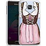Samsung Galaxy A3 (2016) Housse Étui Protection Coque Fête de la bière Costume tyrolien Motif
