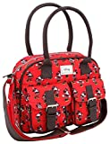 Disney Classic Minnie Cheerful Sac bandoulière, 33 cm, Rouge (Rojo)