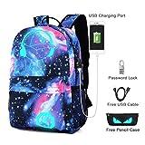Best Backpacks For Boys - Cool Boys School Backpack Luminous School Bag Music Review