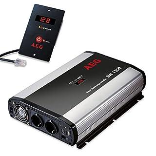 AEG Automotive 97122 Sinus-Spannungswandler SW 1500 Watt, 12 Volt auf 230 Volt