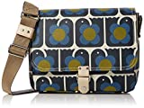 Orla Kiely Women's Love Birds Print Small Satchel Satchel