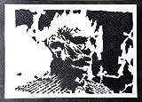 Póster El Rey De La Noche Caminante Blanco Juego De Tronos (Game Of Thrones) Grafiti Hecho A Mano - Handmade Street Art - Artwork