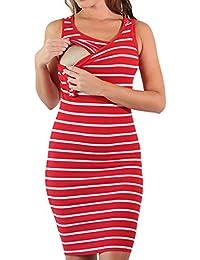 Vestido de maternidad para mujeres embarazadas hibote Vestido de mujer para embarazadas Ropa para madre e