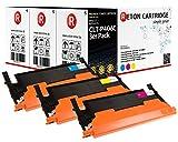 3 Original Reton Toner kompatibel nach (ISO-Norm 19798) ersetzen CLT-C406S CLT-M406S CLT-Y406S für Samsung CLP-360 CLP-365 365W CLX-3300 CLX-3305 3305FN CLX-3305FW CLX-3305W Xpress C410W C460FW C460W