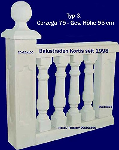 Preisvergleich Produktbild Baluster Corcega