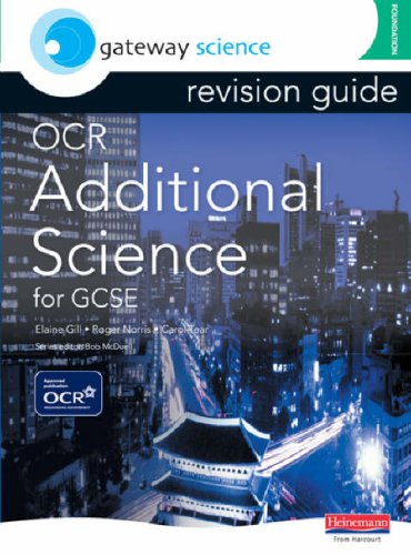 Gateway Science: OCR GCSE Additional Science Revision Guide Foundation (OCR Gateway Science)