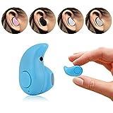 ONX3 (Blau) Aldi MEDION LIFE E5005 Drahtlose Bluetooth Universal-Ultrakleiner S530 4.0-Stereo-Kopfhörer-Kopfhörer Earbud-Freisprecheinrichtung Car Kit für iPhone und Android Smartphones