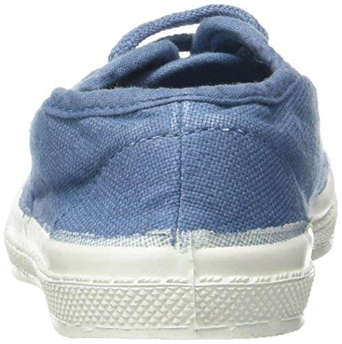 Bensimon - Tennis Lacet Enfant, Basse Unisex – Bambini Blu (Denim)