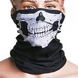 Alamor Skull Multi Use Head Wear Hat Bufanda Máscara Facial Motorcycle Cap