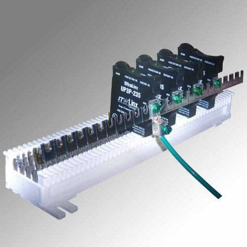 ITW Linx UltraLinx 66 Block 25 Pair Ground Bar 25-pair-66-block