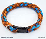 elropet Hundehalsband Mini für die Kleinen rundgeflochten Tauwerk Hawaii (32cm) Halsband kleine Hunde