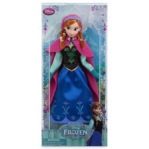 Disney Frozen / Die Eiskönigin - Anna Puppe - original Disney 30cm (USA ()