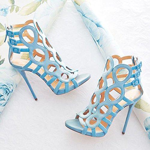 Heel Super sandali della ragazza Wathet