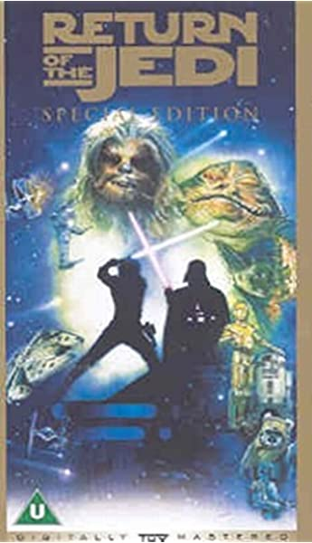 Star Wars Episode Vi Return Of The Jedi Special Edition Vhs Mark Hamill Harrison Ford Carrie Fisher Billy Dee Williams Anthony Daniels Peter Mayhew Sebastian Shaw Ian Mcdiarmid Frank Oz James
