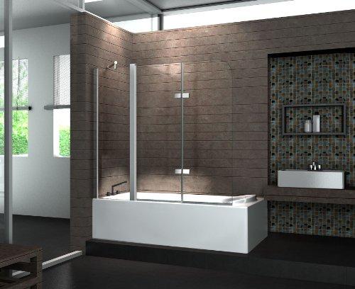 schiebet r f r badewanne preisvergleich die besten. Black Bedroom Furniture Sets. Home Design Ideas