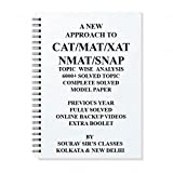A NEW APPROACH TO CAT/MAT/XAT/NMAT/CMAT/IIFT/SNAP [ PACK OF 5 BOOKS ] STUDY NOTES MATERIALS WRITTEN ACCORDING TO LATEST PATTERN ALL TOPICS TOGETHER **ONLINE VIDEO LECTURE PATTERNS ** ALL YEAR SOLVES**10000+ SOLVED QUESTIONS***MCQ ***MODEL PAPERS WITH EXPLANATION KIT/NOTES/BOOKS