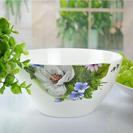 HGTYU-8 inches of Chinese noodle bowl large bowl bone china tableware ceramic bowl ceramic tablewareb Amazon.co.uk Kitchen \u0026 Home & HGTYU-8 inches of Chinese noodle bowl large bowl bone china ...