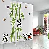 StylishWalls PVC Animals Wall Sticker, 110 x 125 cm, Multicolour