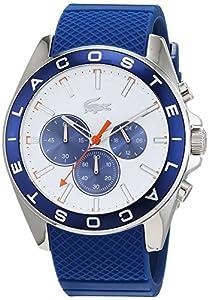 Lacoste 2010854 Westport - Reloj de pulsera analógico para hombre de Lacoste